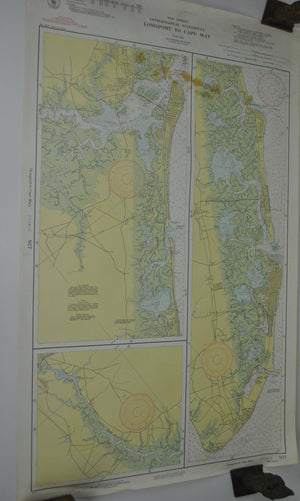 1940 New Jersey Intercoastal Waterway Longport to Cape May