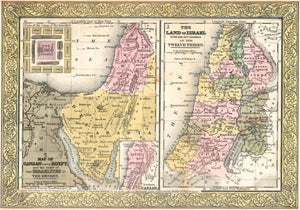 1849 Land of Israel - S Mitchell
