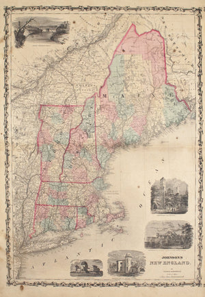 1860 New England - Johnson