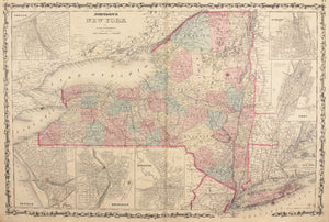 1860 New York - Johnson