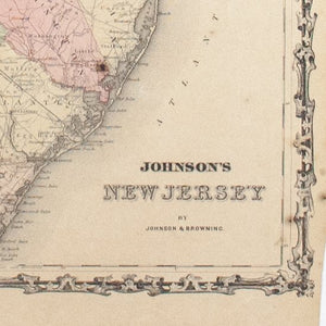 1860 New Jersey - Johnson