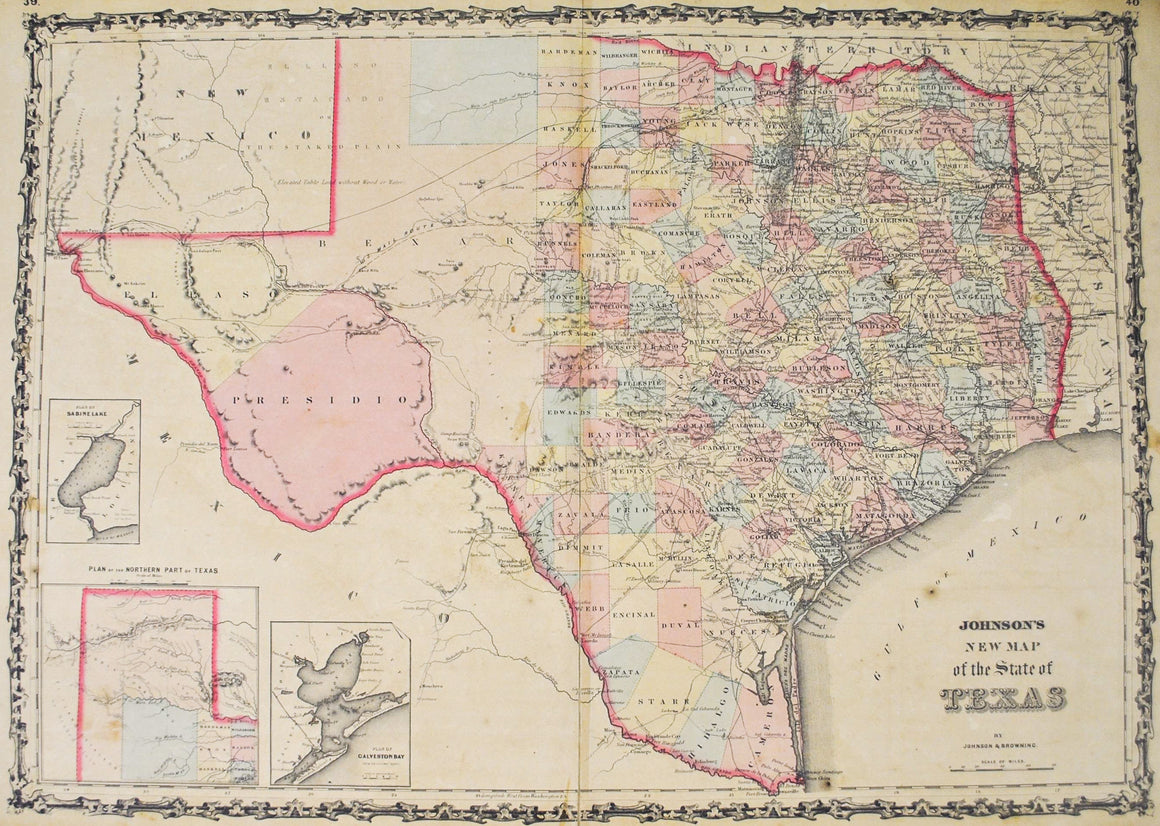 1860 Texas - Johnson