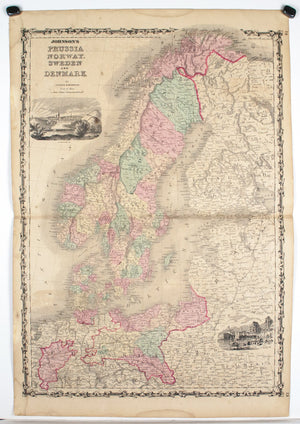 1860 Prussia Norway Sweden Denmark - Johnson