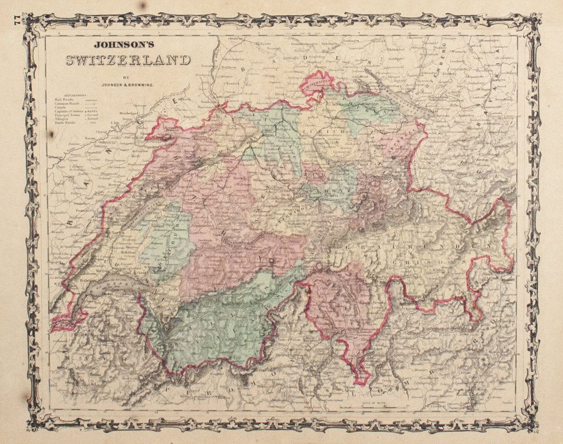 1860 Switzerland - Johnson