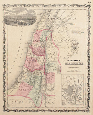 1860 Palestine - Johnson