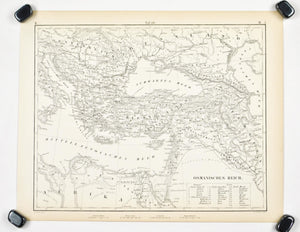 1857 Tef 26 The Turkish Empire - JG Heck
