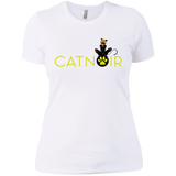 MIR_ChatNoir  Next Level Ladies' Boyfriend Tee