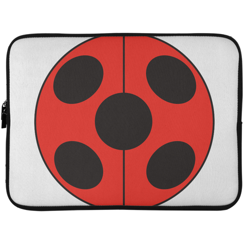 _FLATLadybug  Laptop Sleeve - 15 Inch