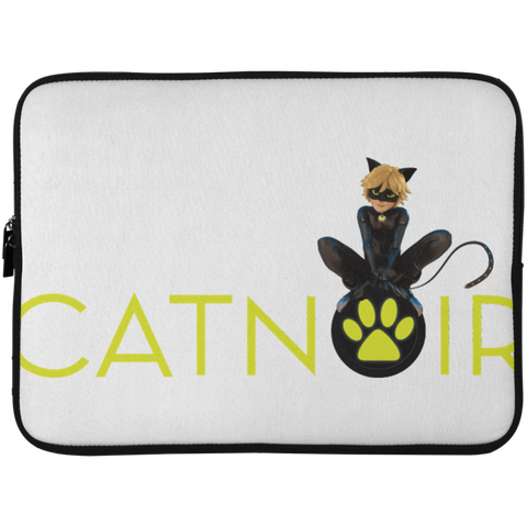 MIR_ChatNoir  Laptop Sleeve - 15 Inch