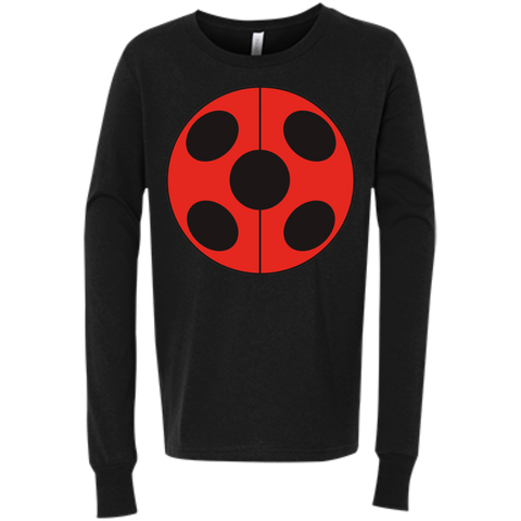 MIR_FLATLadybug  Bella+Canvas Youth Jersey Long Sleeve