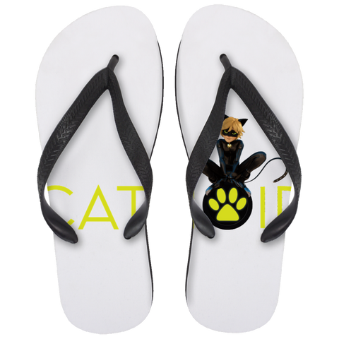 MIR_ChatNoir  Flip Flops - Large