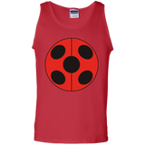 _FLATLadybug  100% Cotton Tank Top