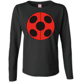 MIR_FLATLadybug  Ladies Long Sleeve Cotton TShirt