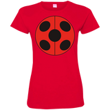 MIR_FLATLadybug  Ladies Custom Fine Jersey T-Shirt