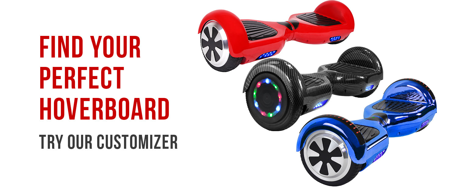 Prime R6 Hoverboard Hover Board Customizer