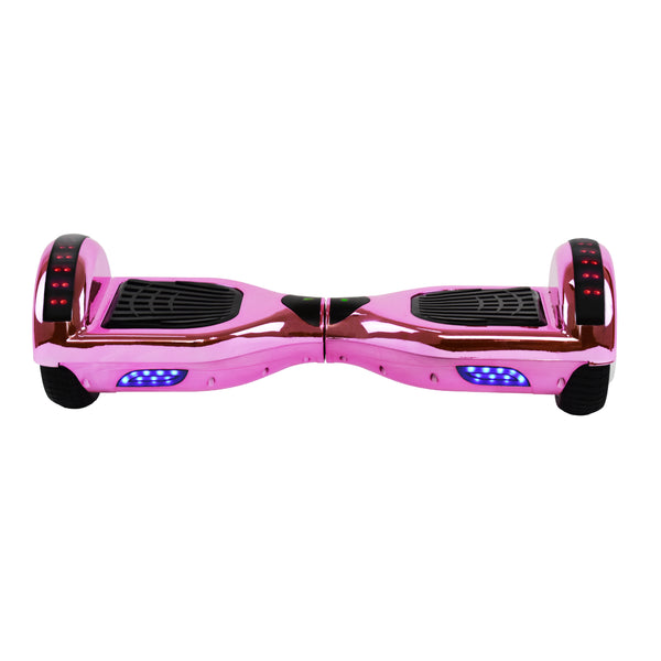 Prime R6 Plus Monster Wheel  (Pink Chrome) with Bluetooth Speakers - UL-2272 Certified