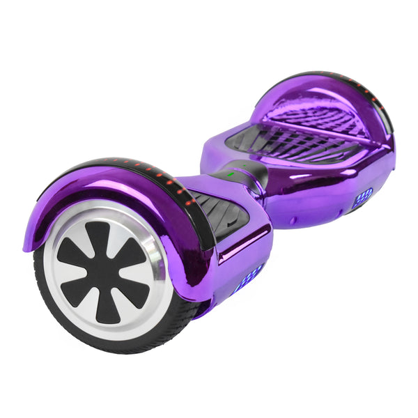 Prime R6 Plus (Purple Chrome) Monster Wheel - with Bluetooth Speakers Government Approved UL2272