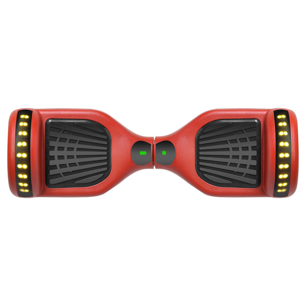 Prime R6 Monster Wheel Hoverboard (Red) - UL-2272 Certified