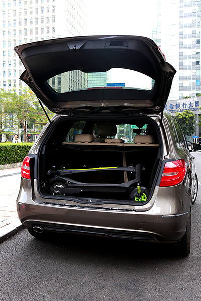 Inmotion L6 Electric Scooter fits in car trunk