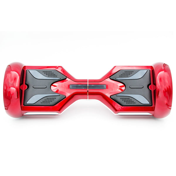 "Otto R8x Hoverboard - Government Approved UL2272  - Red with 8"" wheel"