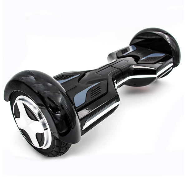 "Otto R8x Hoverboard - Government Approved UL2272  - Black with 8"" wheel"