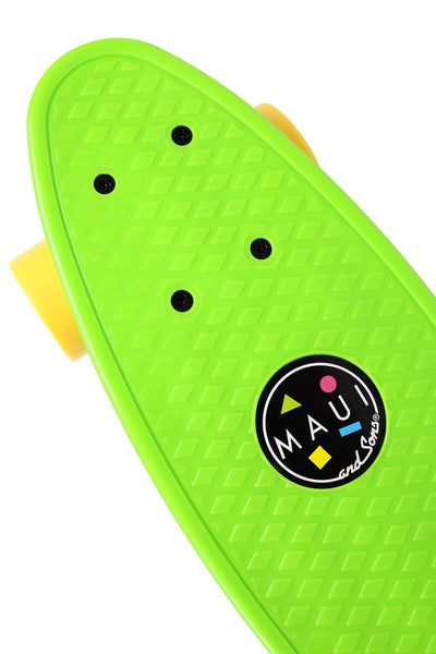 Prime Series Skateboard by Maui and Sons Blue (Green)