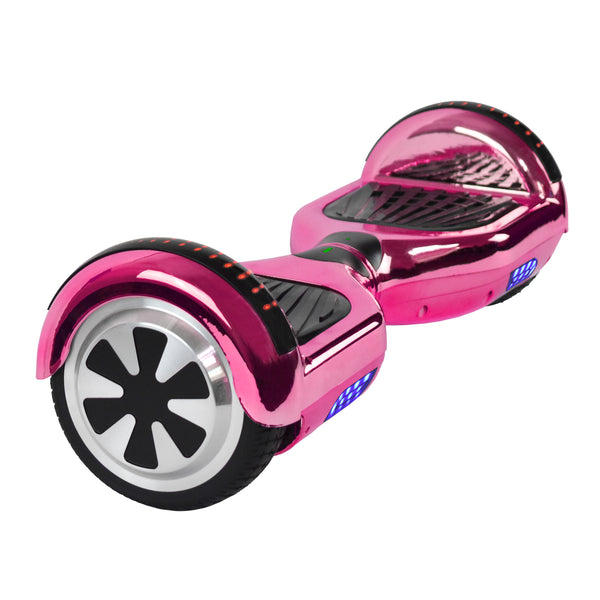 Prime R6 Plus Monster Wheel  Hoverboard (Chrome)