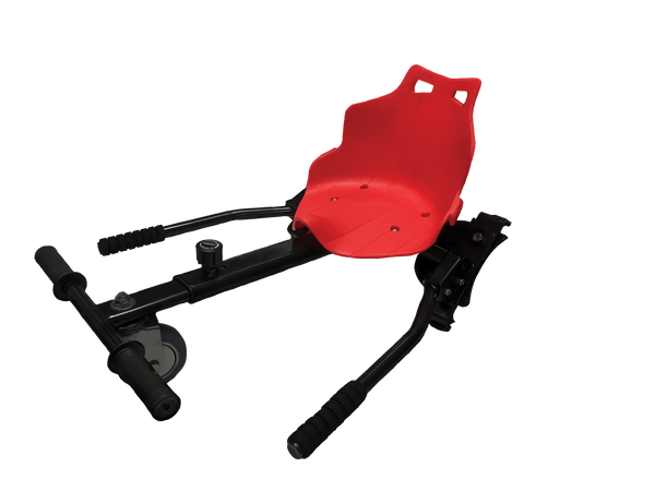GoKart K1 for Hoverboards (Red): Transform your hoverboard into a Go-Kart!