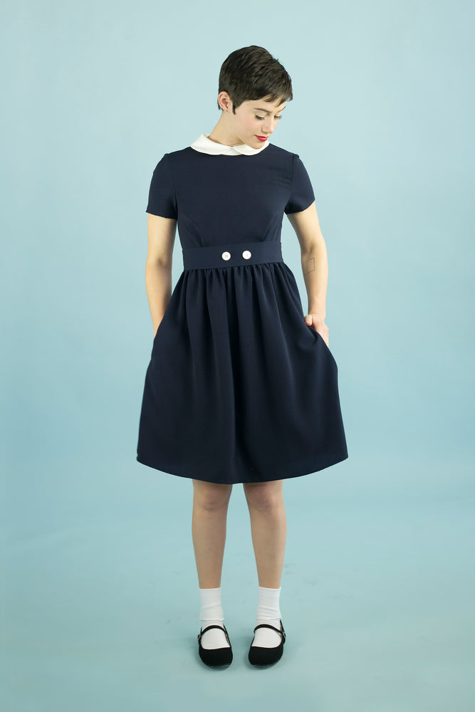 Clockhouse Dress Navy
