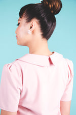 Peony Blouse in Dusty Pink