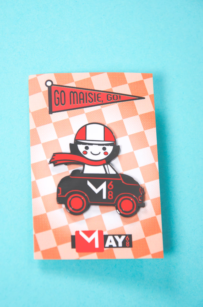 Maise Racer Enamel Pin - Limited Edition!