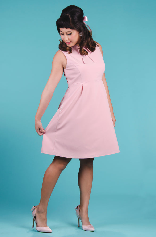 Patsie Dress in Dusty Pink