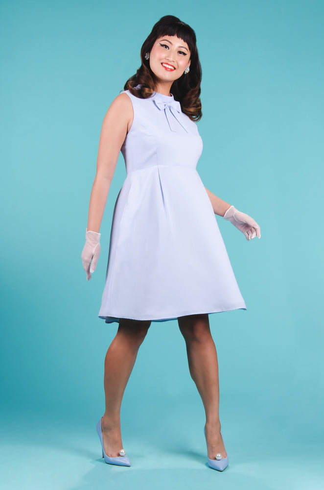 Patsie Dress in Baby Blue