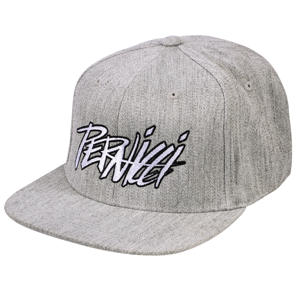 Signature Snapback Flat Brim Heather