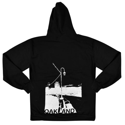 Oakland Neckless of Lights Zip Hood