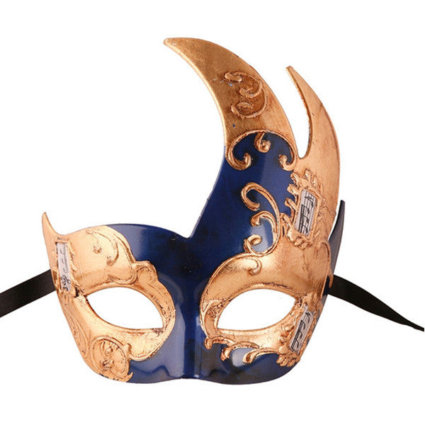 GOLD Series Men's Vintage Design Musical Masquerade Mask - Luxury Mask - 1