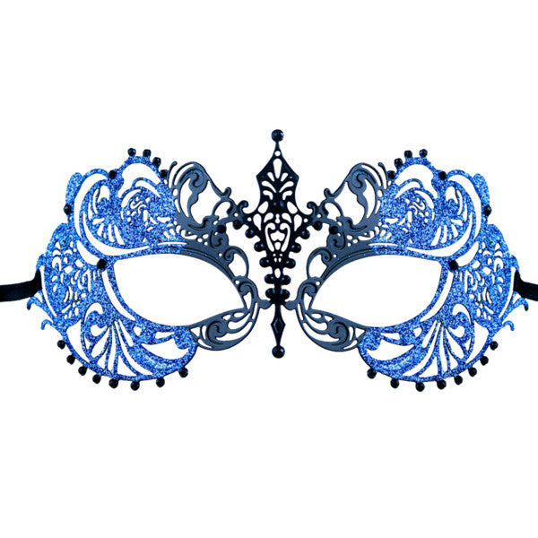 GLITTER Series Laser Cut Metal Venetian Pretty Masquerade Mask - Luxury Mask - 1