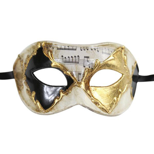 MUSICAL Vintage Design Masquerade Mask - Luxury Mask - 1