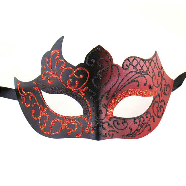 High Quality Assorted Venetian Party Mask Multicolored - Luxury Mask - 1