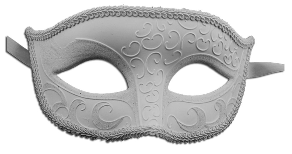 Unisex Sparkle Venetian Masquerade Mask - Luxury Mask - 4
