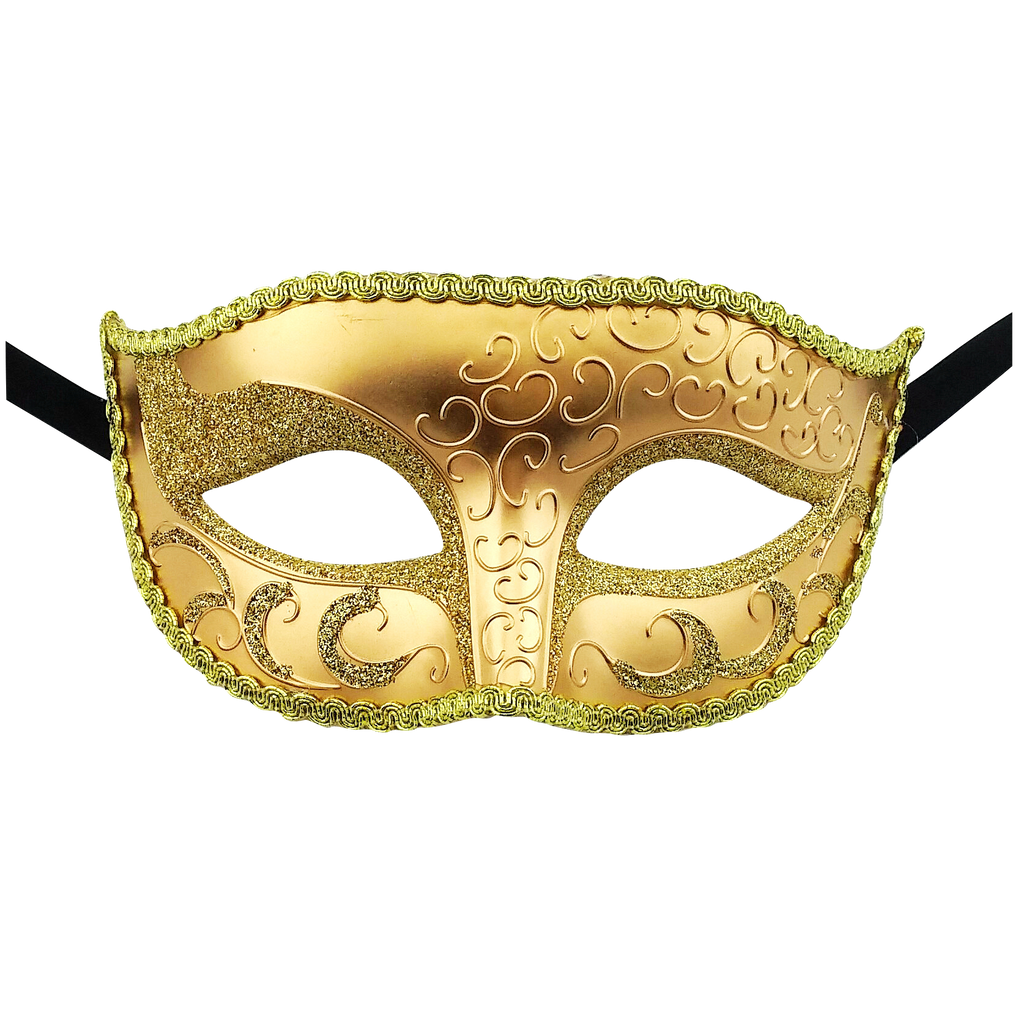 Unisex Sparkle Venetian Masquerade Mask - Luxury Mask - 2