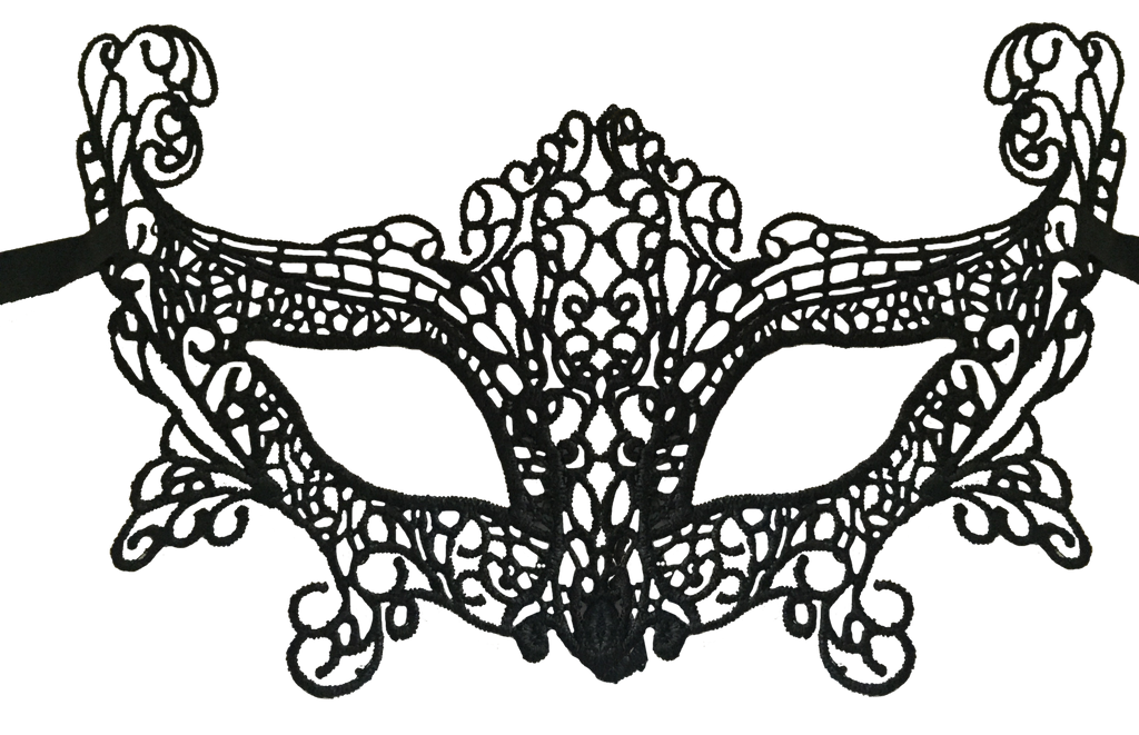 Lace Eye Masquerade Prom Mask - Luxury Mask - 1