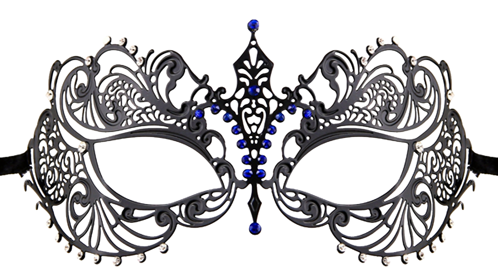 MUTLI COLOR Series Laser Cut Metal Venetian Pretty Masquerade Mask - Luxury Mask - 4
