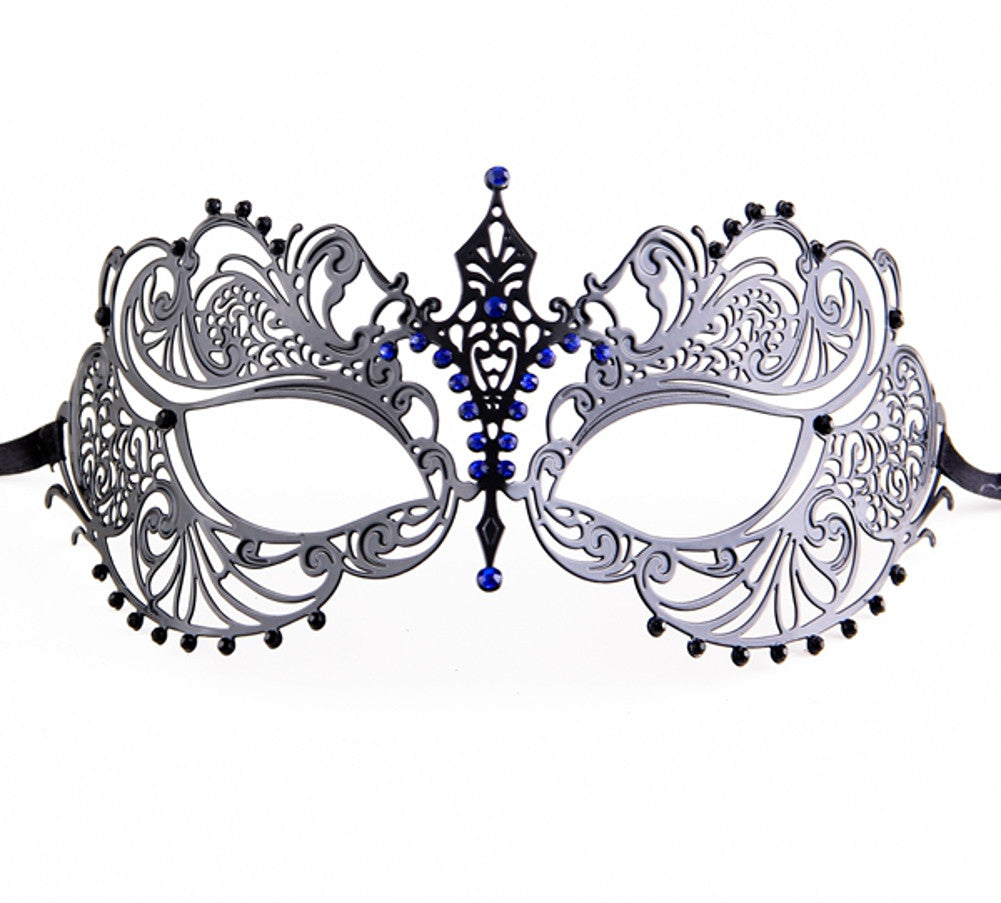 MUTLI COLOR Series Laser Cut Metal Venetian Pretty Masquerade Mask - Luxury Mask - 2