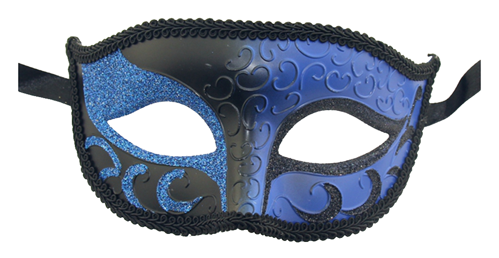Sparkle Venetian Mardi Gras Multi Color mask - Luxury Mask - 2