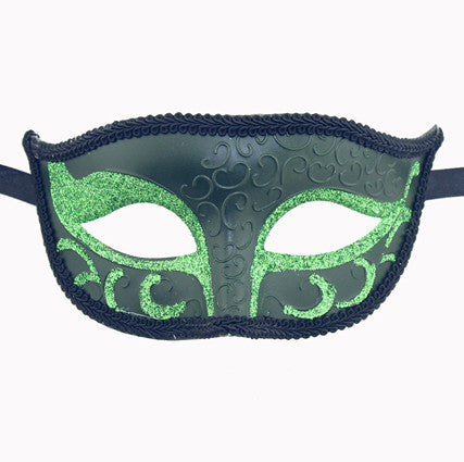 Unisex Sparkle Venetian Masquerade Mask - Luxury Mask - 6