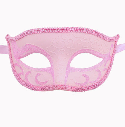 Unisex Sparkle Venetian Masquerade Mask - Luxury Mask - 8