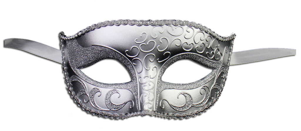 Unisex Sparkle Venetian Masquerade Mask - Luxury Mask - 3
