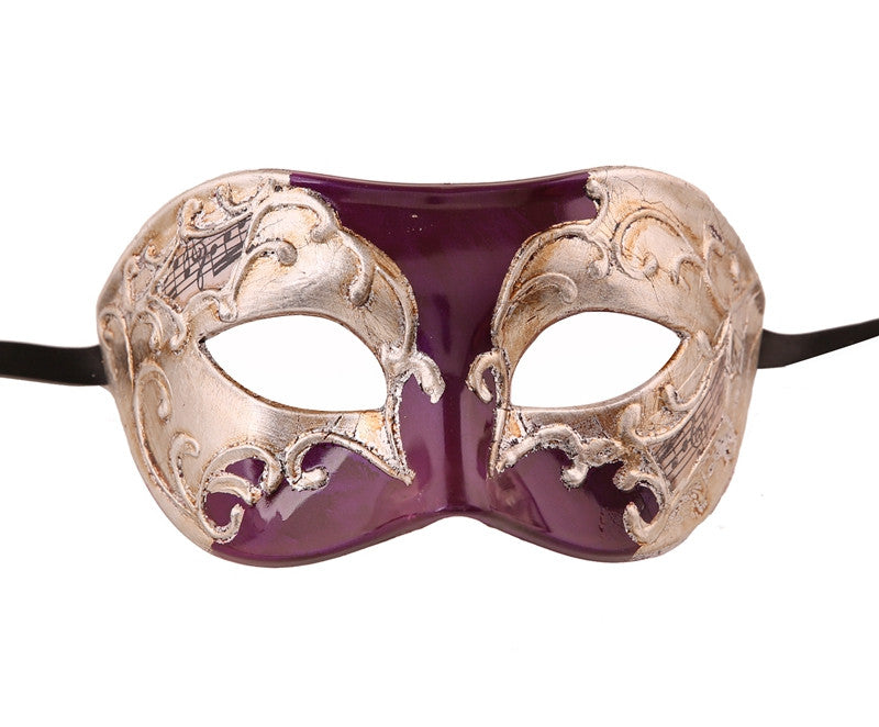 MULTI COLOR  Vintage Design Masquerade Mask - Luxury Mask - 6