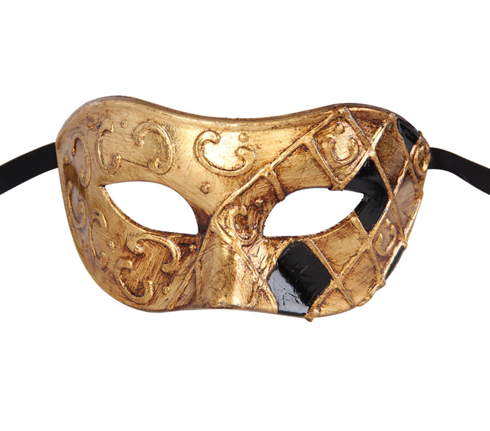 Men's Vintage Design Two color Masquerade Mask - Luxury Mask - 3